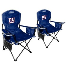 Tremendous Nfl New York Giants Cooler Quad Chair 2 Pack Sams Club Ocoug Best Dining Table And Chair Ideas Images Ocougorg
