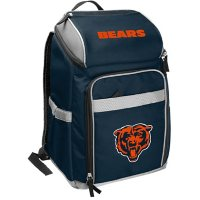 Rawlings Official NFL Soft-Sided Backpack Cooler, 32-Can Capacity - Chicago Bears