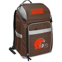 Rawlings Official NFL Soft-Sided Backpack Cooler, 32-Can Capacity - Cleveland Browns