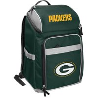 Rawlings Official NFL Soft-Sided Backpack Cooler, 32-Can Capacity - Green Bay Packers