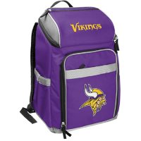 Rawlings Official NFL Soft-Sided Backpack Cooler, 32-Can Capacity - Minnesota Vikings