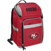 Rawlings Official NFL Soft-Sided Backpack Cooler, 32-Can Capacity - San Francisco 49ers