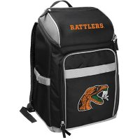 Rawlings Official NCAA Soft-Sided Backpack Cooler, 32-Can Capacity - Florida A&M University