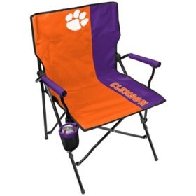 Rawlings Official NCAA Hard Arm Tailgate Chair - Clemson University