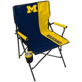 Rawlings Official NCAA Hard Arm Tailgate Chair - University of Michigan