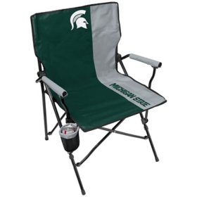Rawlings Official NCAA Hard Arm Tailgate Chair - Michigan State University
