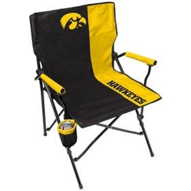 Rawlings Official NCAA Hard Arm Tailgate Chair - University of Iowa