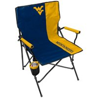 Rawlings Official NCAA Hard Arm Tailgate Chair - West Virginia University