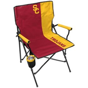 Rawlings Official NCAA Hard Arm Tailgate Chair - University of Southern California