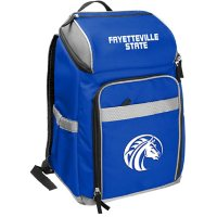 Rawlings Official NCAA Soft-Sided Backpack Cooler, 32-Can Capacity - Fayetteville State University
