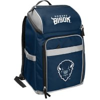 Rawlings Official NCAA Soft-Sided Backpack Cooler, 32-Can Capacity - Howard University