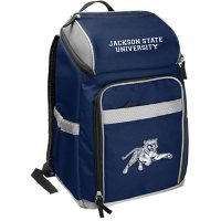 Rawlings Official NCAA Soft-Sided Backpack Cooler, 32-Can Capacity - Jackson State University