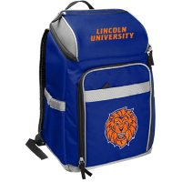 Rawlings Official NCAA Soft-Sided Backpack Cooler, 32-Can Capacity - Lincoln University