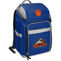 Rawlings Official NCAA Soft-Sided Backpack Cooler, 32-Can Capacity - Morgan State University