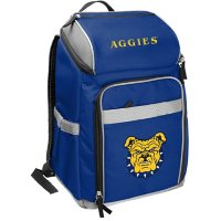 Rawlings Official NCAA Soft-Sided Backpack Cooler, 32-Can Capacity - N.C. A&T State University