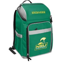 Rawlings Official NCAA Soft-Sided Backpack Cooler, 32-Can Capacity - Norfolk State University
