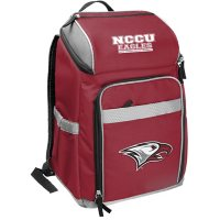 Rawlings Official NCAA Soft-Sided Backpack Cooler, 32-Can Capacity - North Carolina Central University
