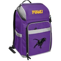 Rawlings Official NCAA Soft-Sided Backpack Cooler, 32-Can Capacity - Prairie View A&M University