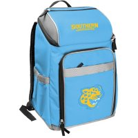 Rawlings Official NCAA Soft-Sided Backpack Cooler, 32-Can Capacity - Southern University and A&M College