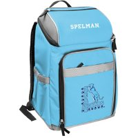 Rawlings Official NCAA Soft-Sided Backpack Cooler, 32-Can Capacity - Spelman College