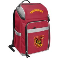 Rawlings Official NCAA Soft-Sided Backpack Cooler, 32-Can Capacity - Tuskegee University