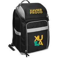 Rawlings Official NCAA Soft-Sided Backpack Cooler, 32-Can Capacity - Xavier University of Louisiana