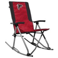 Rawlings Official NFL Foldable High Back Tailgate Rocking Chair - Atlanta Falcons