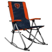 Rawlings Official NFL Foldable High Back Tailgate Rocking Chair - Chicago Bears