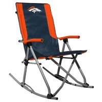 Rawlings Official NFL Foldable High Back Tailgate Rocking Chair - Denver Broncos