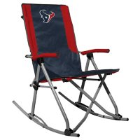 Rawlings Official NFL Foldable High Back Tailgate Rocking Chair - Houston Texans