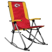 Rawlings Official NFL Foldable High Back Tailgate Rocking Chair - Kansas City Chiefs