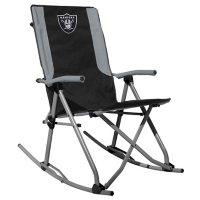 Rawlings Official NFL Foldable High Back Tailgate Rocking Chair - Las Vegas Raiders