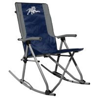 Rawlings Official NCAA Foldable High Back Tailgate Rocking Chair-Jackson State University