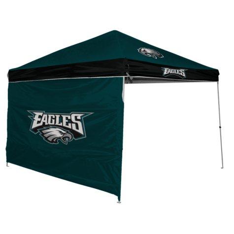 NFL Philadelphia Eagles Canopy 9 x 9 with Wall