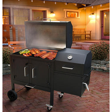 Black Dog 42XT Charcoal Barbecue Grill & Smoker