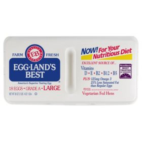 Eggland's Best Grade A Large Eggs (18 ct.)