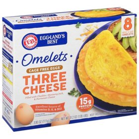Eggland's Best Three Cheese Cage Free Omelet (8 ct.)