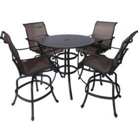 5-Piece Outdoor Sling Bar Set