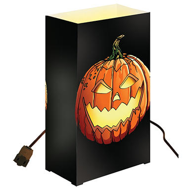 10-Count Electric Luminaria Kit - Jack O'Lantern
