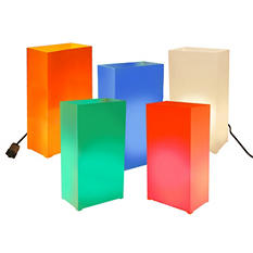 Electric Luminaria Kit - Party Time 10 Ct