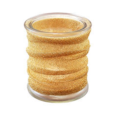 Gold Metallic Wrapped Candle Holders (4 ct.)