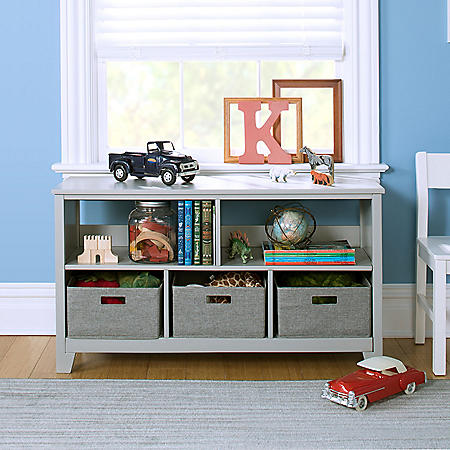 Martha Stewart Living and Learning Kids' Low Bookcase, Assorted Colors