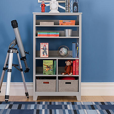 Martha Stewart Living and Learning Kids' Tall Bookcase, Assorted Colors