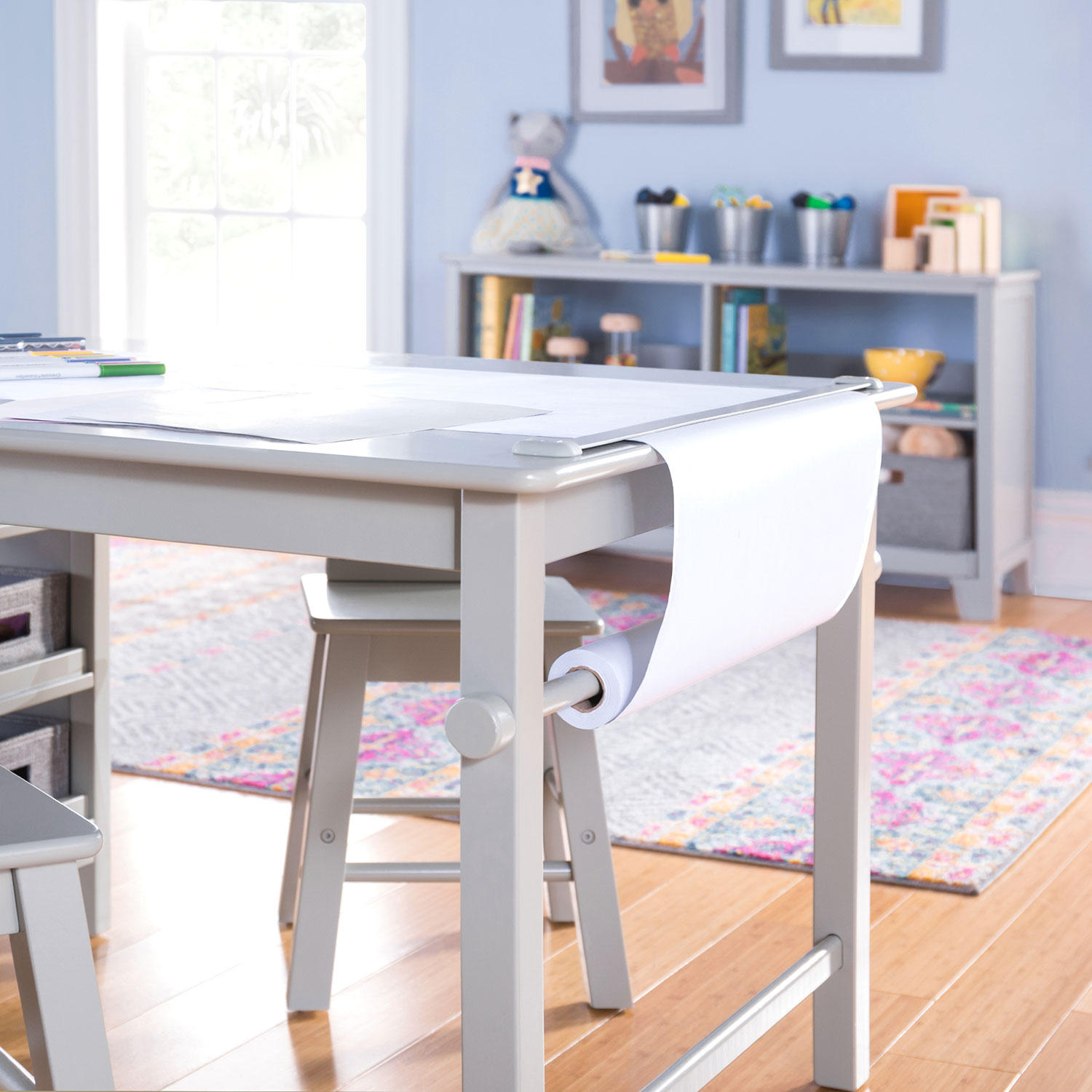 Martha Stewart Living and Learning Kids' Art Table and Stool Set