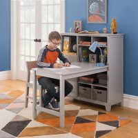 Martha Stewart Living and Learning Kids' Media System with Desk Extension and Chair, Assorted Colors