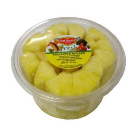 Del Monte Fresh Pineapple Spears (2.5 lb.)