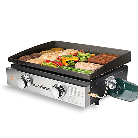 Blackstone 22? Tabletop 2 Burner Griddle with Cover included