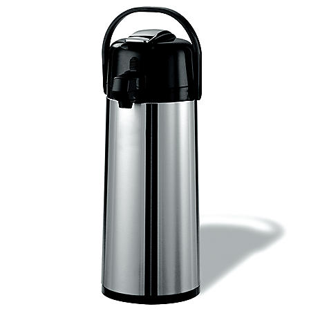 Member's Mark Stainless Steel 2.2 L Airpot with Lever