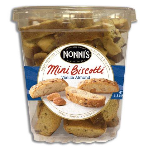 Nonni's Mini Biscotti - Vanilla Almond - 1 lb. 8 oz.