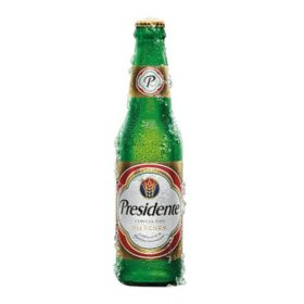 Presidente Pilsner Beer (12 fl. oz. bottle, 24 pk.)